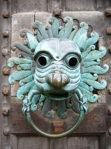 Brougham Door Knocker, Cumbria