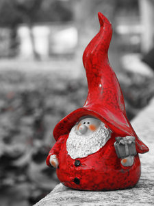 Gnome B/N 020: Xmas is coming