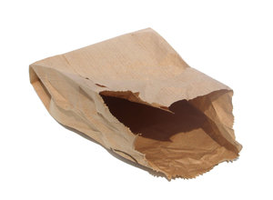 empty paper bag