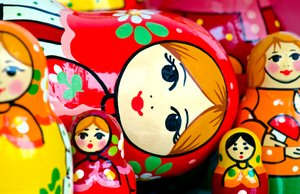 Russian nesting dolls: Matroshka dolls from russia