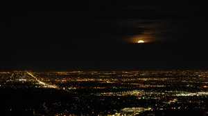 Moon Over Denver