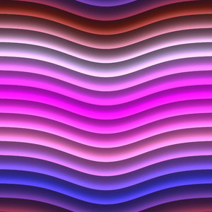Wavy Lines 1: Bright multicoloured wavy lines in browns, pinks, and blues. These attention getting textures are suitable for backgrounds, fills, and design elements.