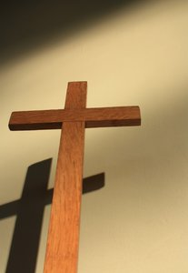 Cross with shadow