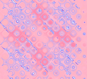 Retro Background Pink: A retro bubble background in shades of pink and purple. Great fill, texture or backdrop, and useful for scrapbooking.