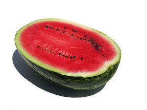 half watermelon: none