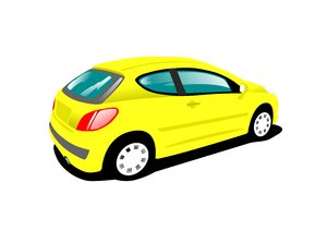 Yellow Car: no description