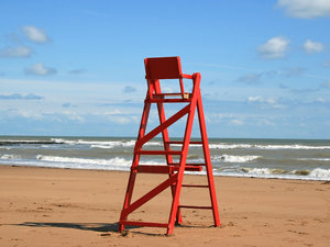 Lifeguard's chair