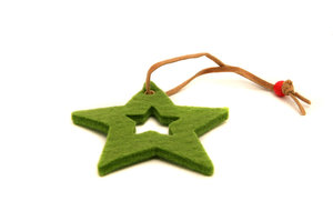 Christmas star: Visit http://www.vierdrie.nl