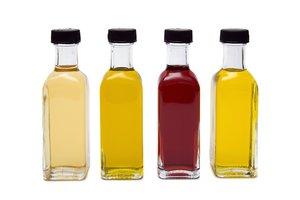 Kleur fixeren azijn