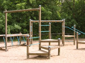 monkey bars playground