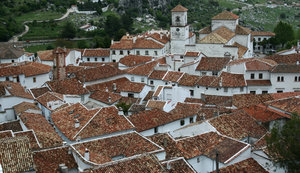 Spanish mountain village