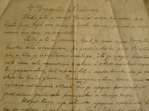 old letter: No description