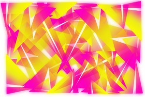 Abstract yellow/pink backgroun