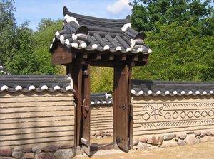 Koreaanse decoratieve gate gratis stock foto 39 s rgbstock gratis afbeeldingen ayla87 may - Entree decoratie ...