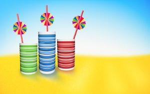 RGB summer drinks