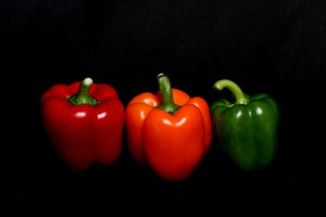 Red Amber Green Peppers