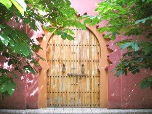 decorative oriental door