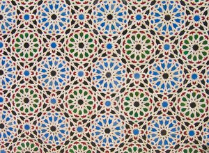 oriental decoration texture