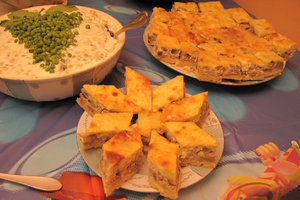 party food: no description
