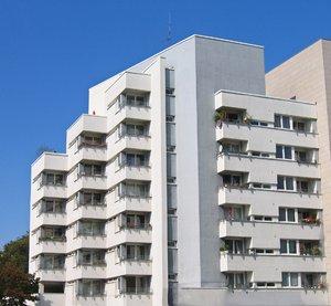 apartment balcony skyscraper
