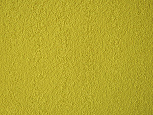 yellow textured wall