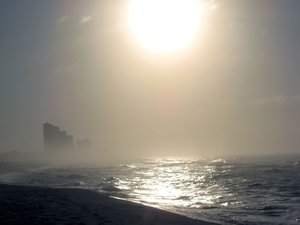 2011 to Fade to Mist: Last morning of 2011. Taken Panama City Beach, Fl.