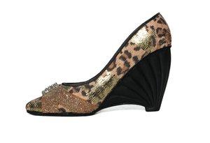 glittering shoe