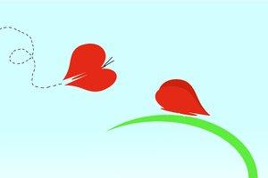 Butterfly Valentine