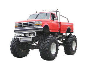 Monster Truck: Just a monster truck.