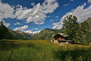 Monte Rosa's landscape