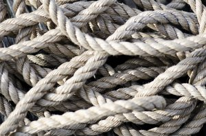 Tangled rope