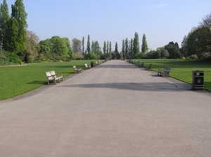 London park: One of the London's park (Regent's).
