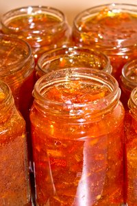 Freshly made marmalade