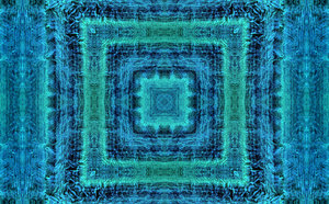 blue green fabric pattern