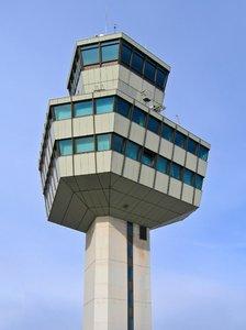 berlin TXL airport tower