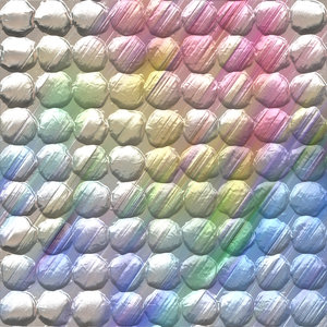 Rainbow Bubblewrap: Rainbow coloured bubblewrap makes an excellent texture, background, fill or element. Get snapping!
