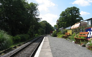 Staverton Railway Station: Staverton Railway Station, Devon, England
