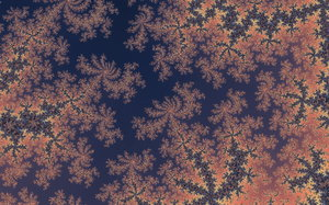 Mandelbrot Tapestry: Detail of Mandelbrot set - created with Fractile Plus on iPhone