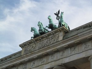 Brandenburg Gate: none