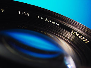 camera lens: close up of camera lens