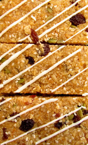 muesli slices2: baked muesli slices