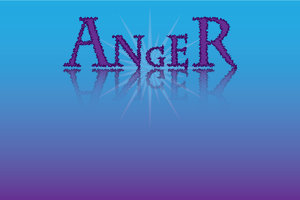 Anger: A human emotion in words...