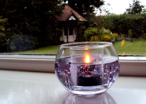Candle in window