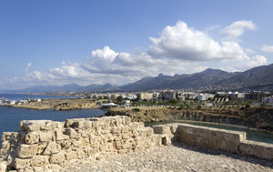 Cyprus coastline: Coastline of northern Cyprus.