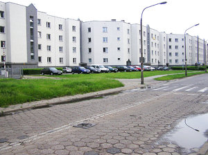 Block of flats in Warsaw