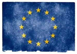 European Union Grunge Flag: Grunge textured flag of the European Union on vintage paper. You can find hundreds of grunge flags on my website www.freestock.ca in the Flags & Maps category, I'm just posting a sample here because I do not want to spam rgbstock ;-p