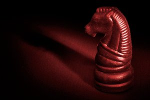 Illuminated Chess Horse