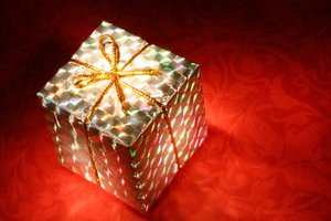 Glowing Gift Box