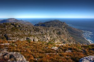 Table Mountain Scenery - HDR