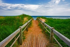 PEI Beach Boardwalk